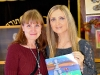 Lana Lagoonca together with the winner of the lottery Maryana Buryukowa, Bellevue, Washington.