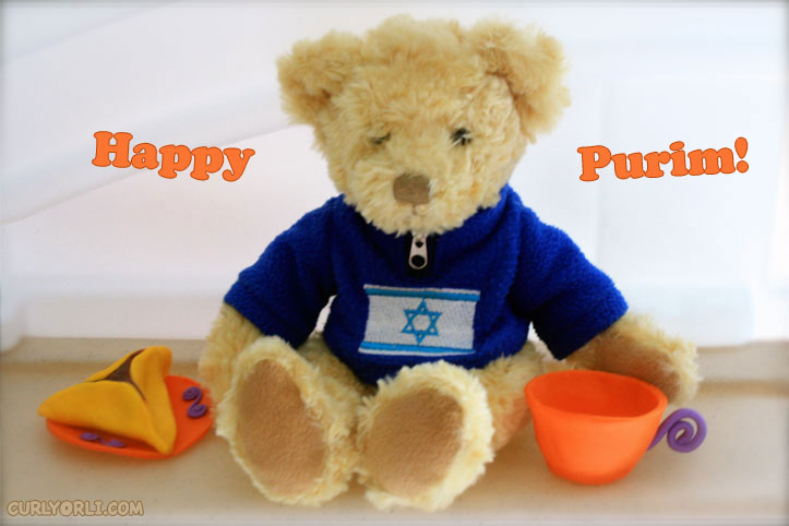 "Purim Teas with ""Haman's Ears"""