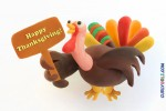 Make your own Thanksgiving Turkey with play dough