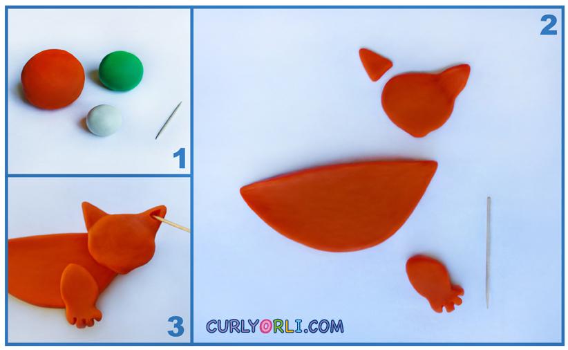Chanukiah - Meowukiah from plasticine. Chanukah crafts